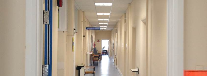 LED lighting at Brighton General Hospital