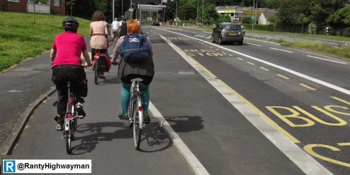 one voice calling for more bike lanes