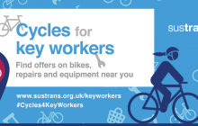 Sustrans support NHS staff in active travel