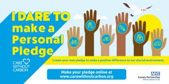 Make a Personal Pledge to support Care Without Carbon